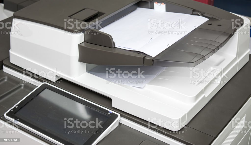 copy print machine royalty-free stock photo
