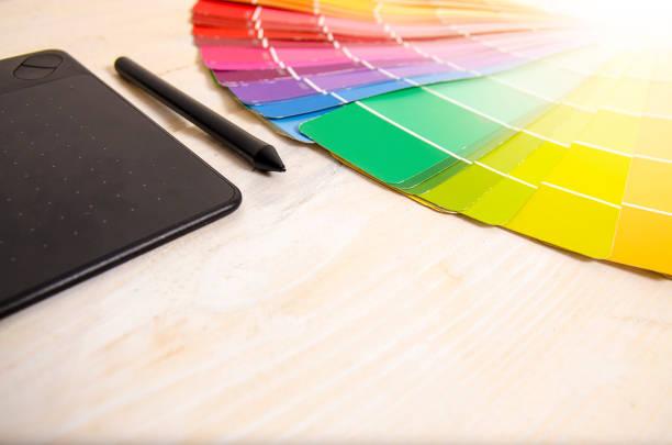 concept de design graphique espace copie - graphisme photos et images de collection
