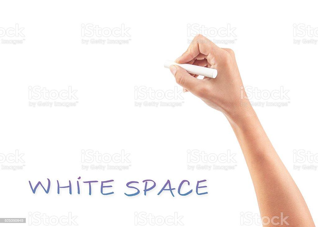 Copy space stock photo