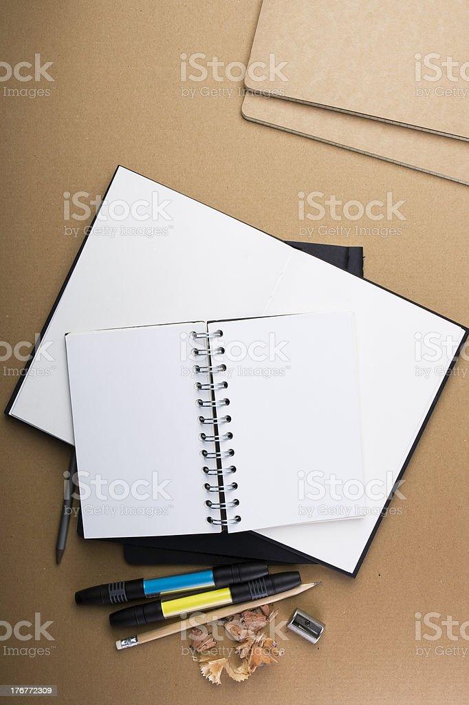 copybook royalty-free stock photo