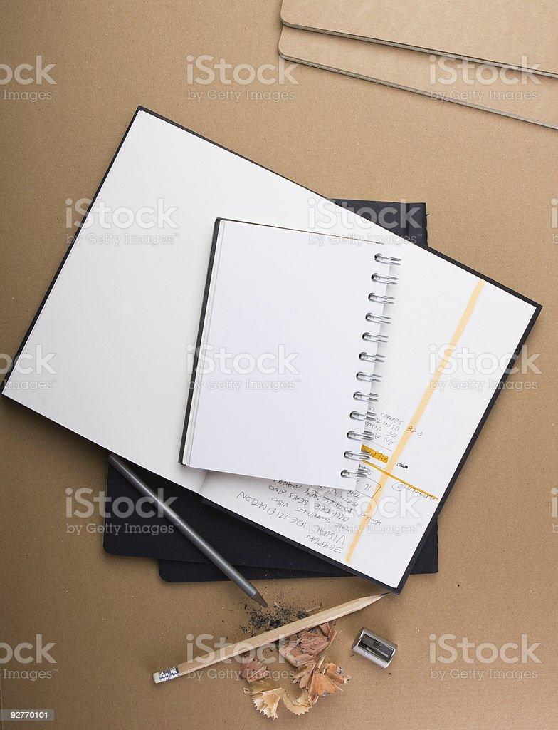 copybook Lizenzfreies stock-foto