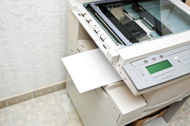 services de photocopie - photocopieuse photos et images de collection