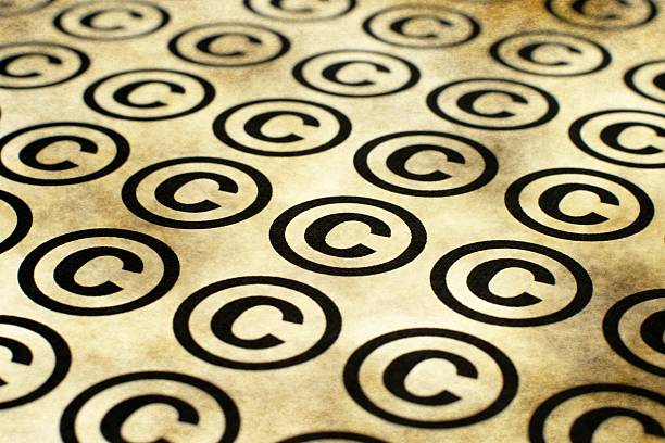 Copyright grunge Konzept – Foto