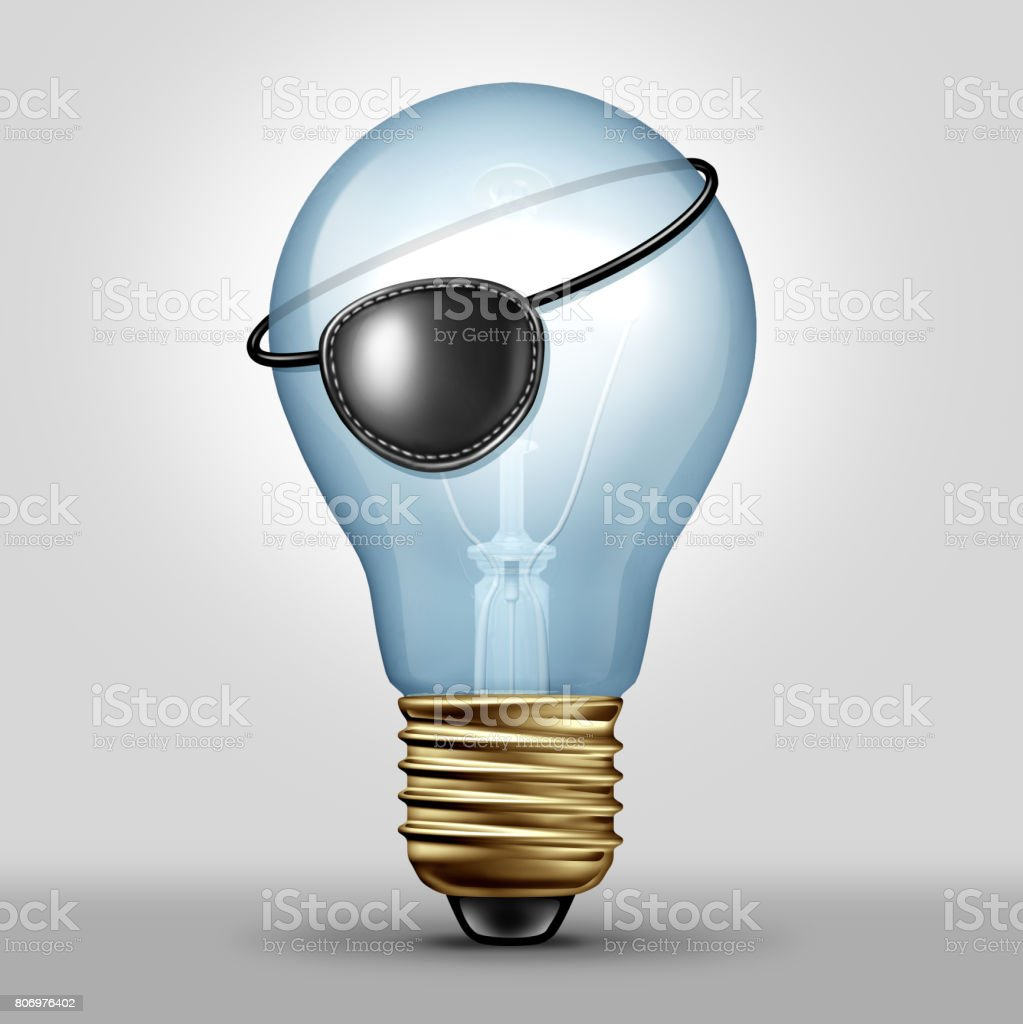 Copyright Infringement Concept stock photo
