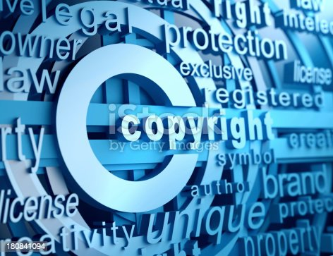 Copyright and related words
