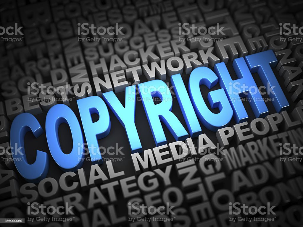 Copyright royalty-free stock photo