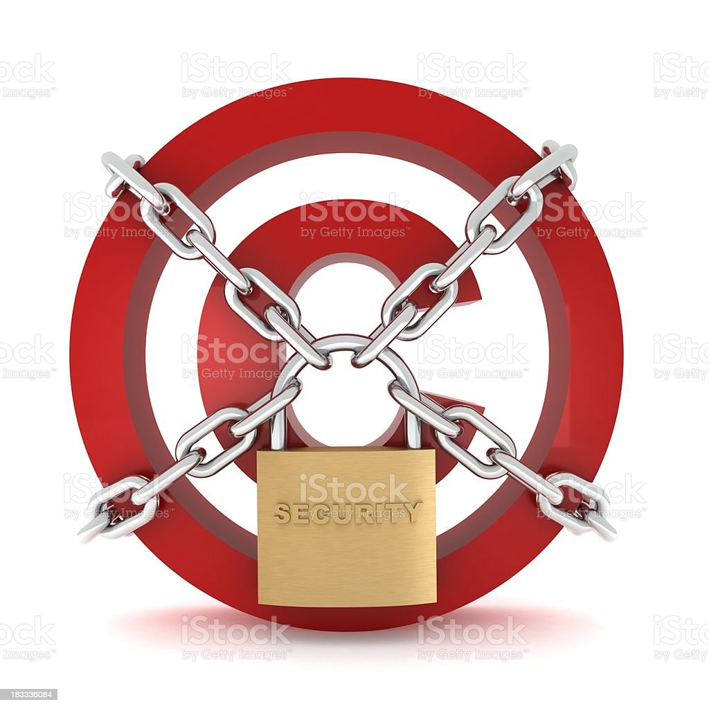 Copyright Protection royalty-free stock photo