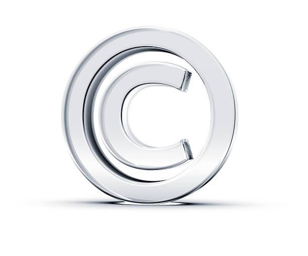 símbolo de direitos autorais - c - fotografias e filmes do acervo