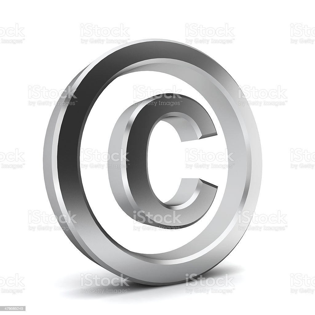 Copyright Symbol Stock Photo More Pictures Of Abstract Istock