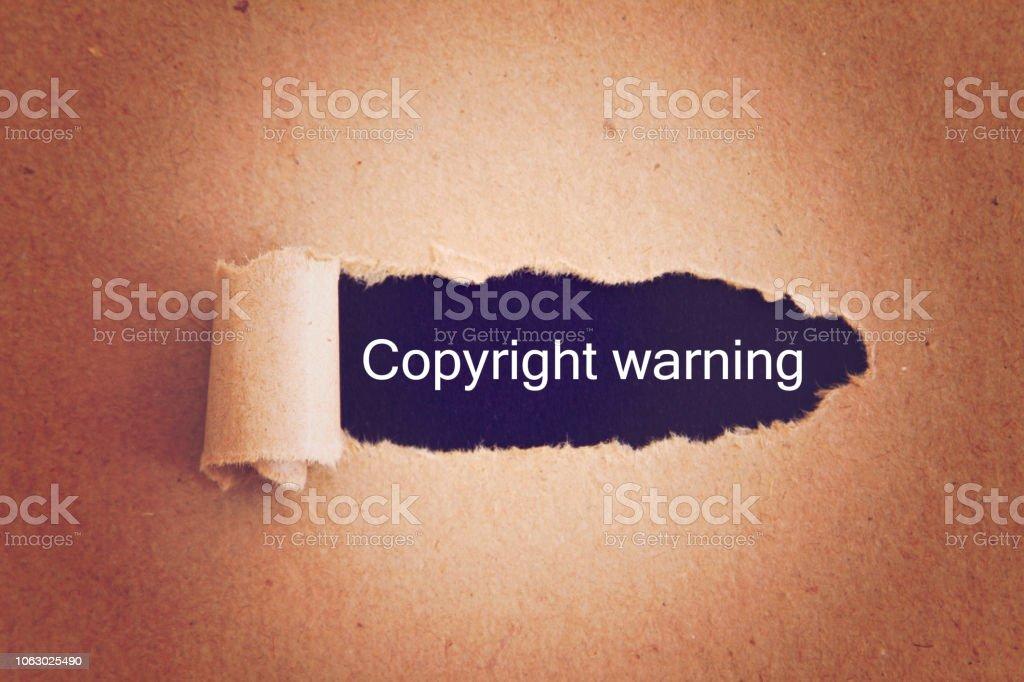 aviso de derechos de autor