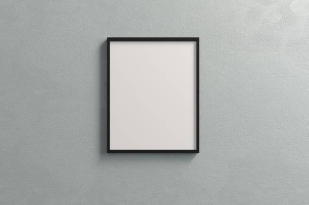 Copyspace Picture frame stock photo
