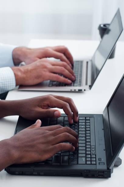 copywriting und seo. schreiben von inhalten für die website. - kreatives schreiben übungen stock-fotos und bilder