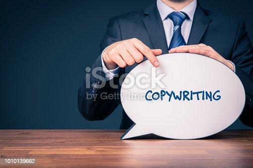 istock Copywriting concept 1010139662