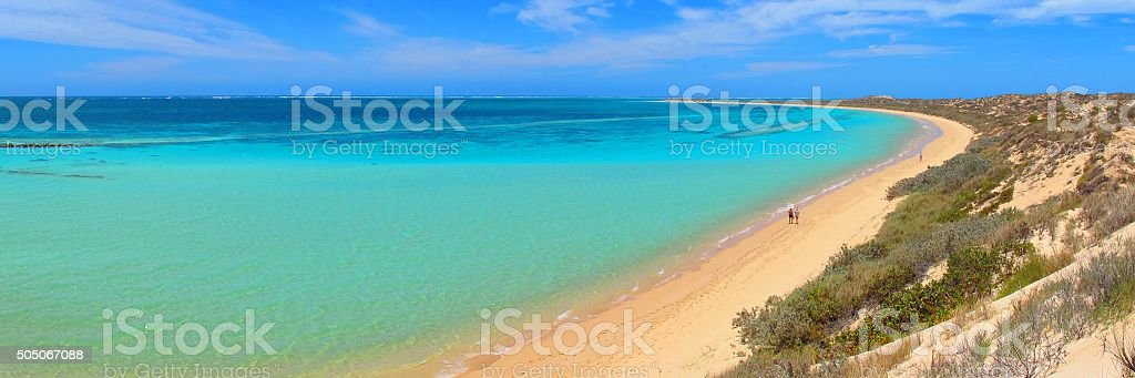 Coral Bay, Western Australia stock photo