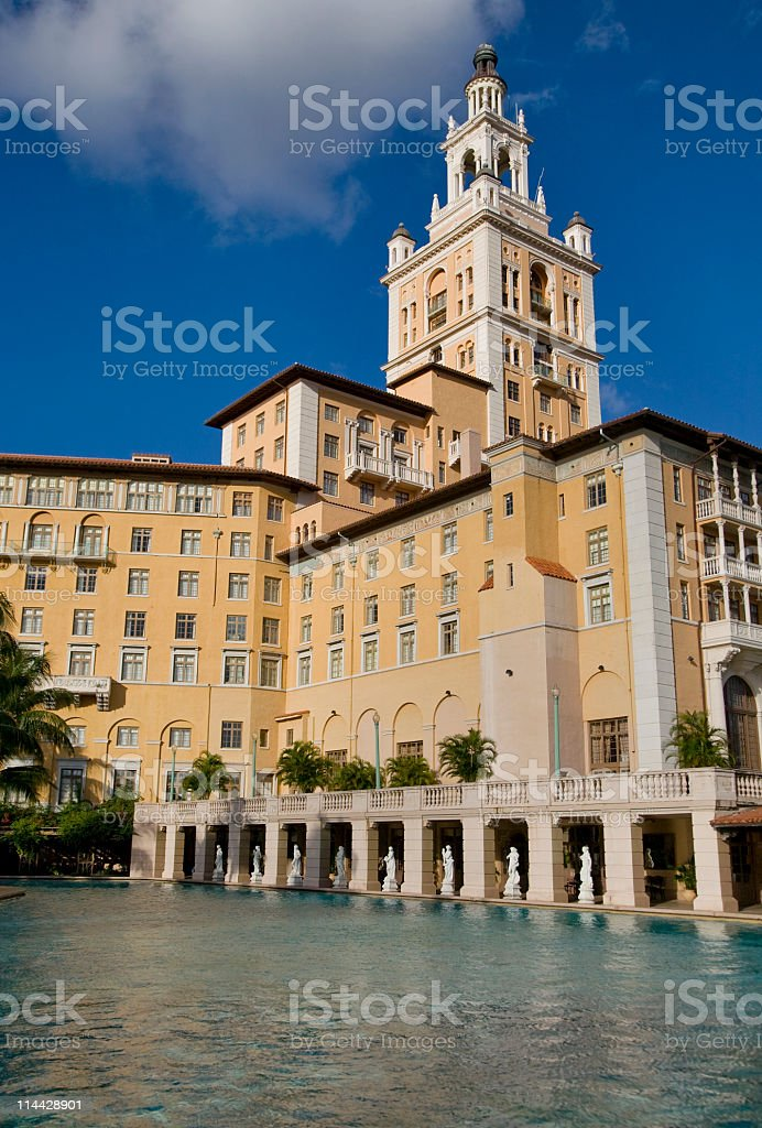 Coral Gables stock photo