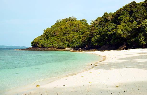 Spiaggia di Coral island - foto stock
