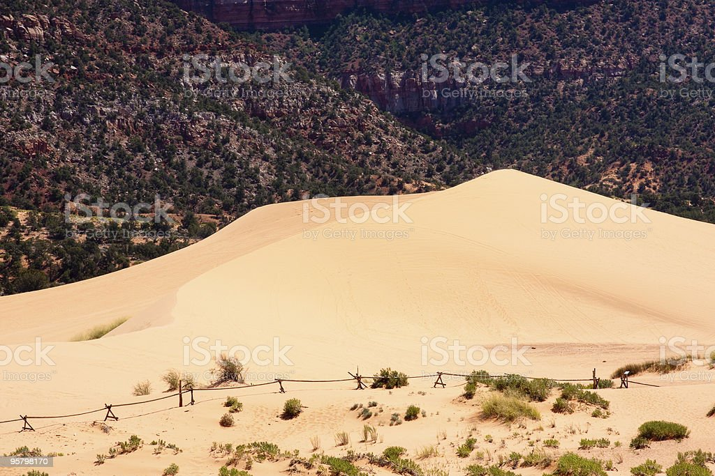 Coral Pink Sand Dunes stock photo