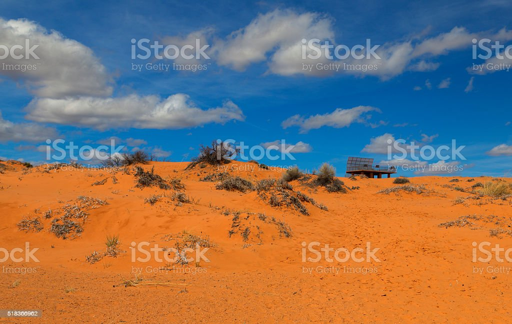 Coral Pink Sand Dunes State Park stock photo
