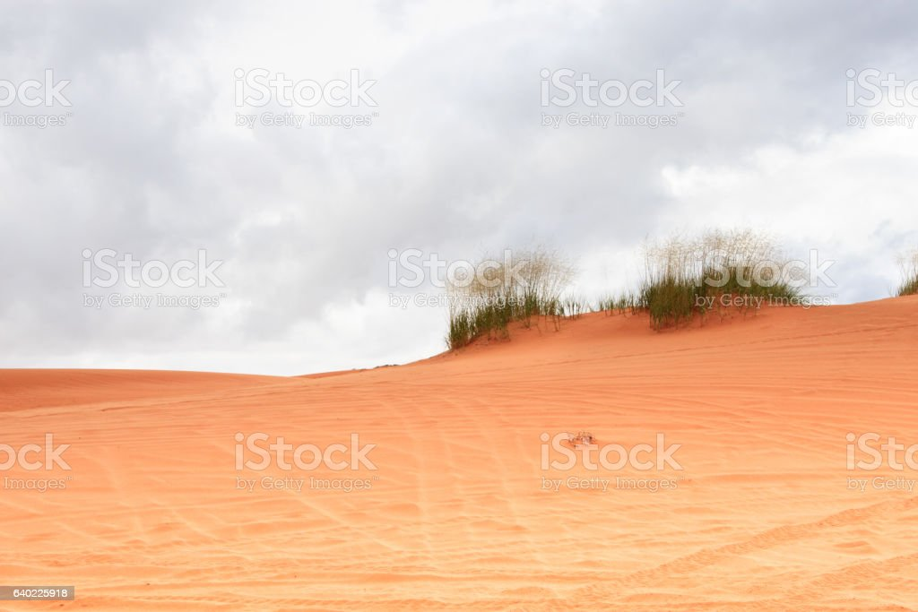 Coral Pink Sand Dunes, Utah stock photo