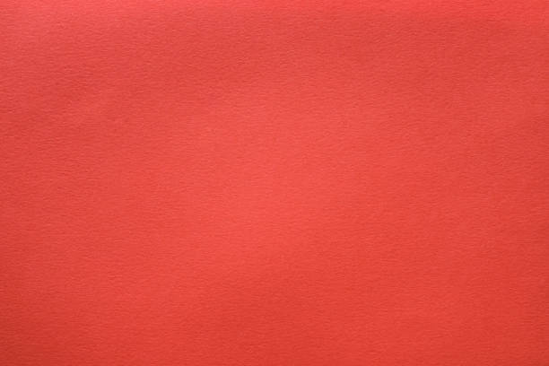 coral red felt texture background shaggy surface stock photo