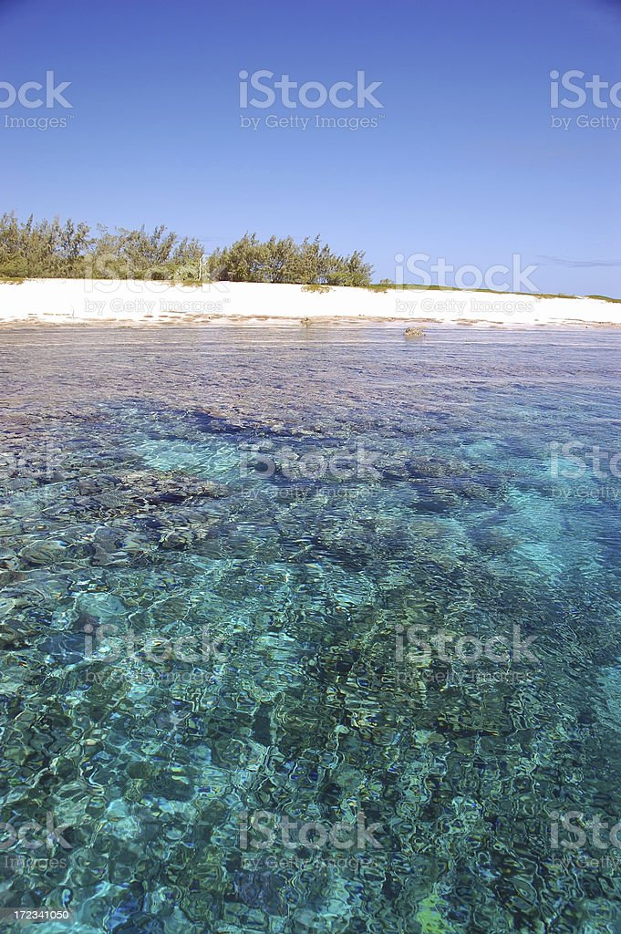 coral reef - island paradise royalty-free stock photo