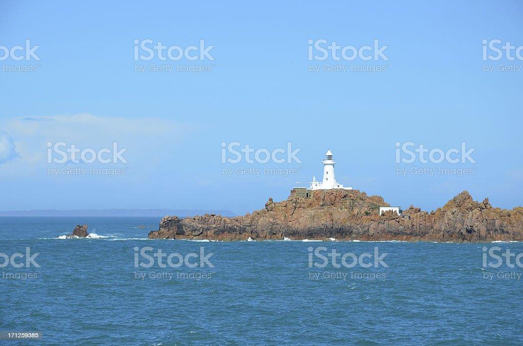 Corbière lighthouse stock photo