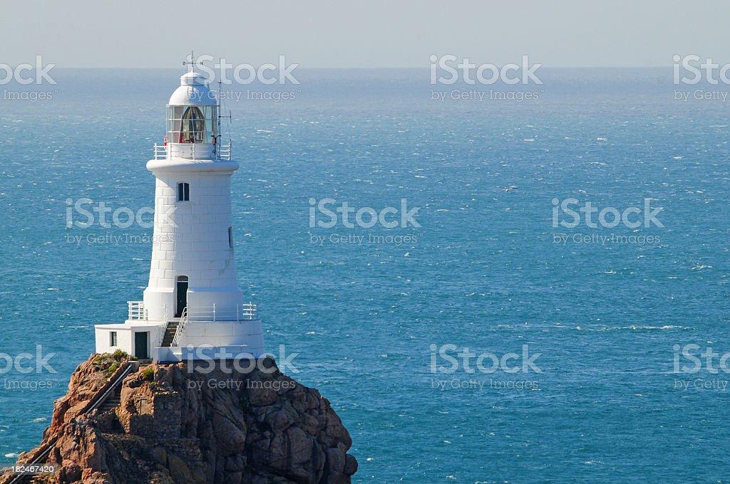 Corbiere Lighthouse stock photo