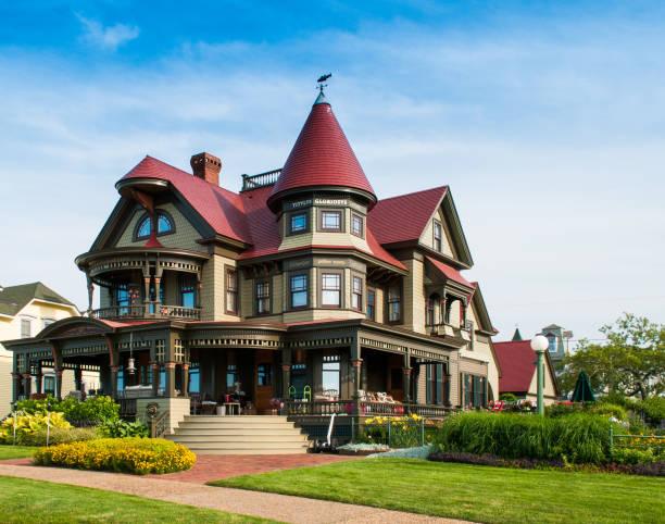 corbin norton house - style victorien photos et images de collection