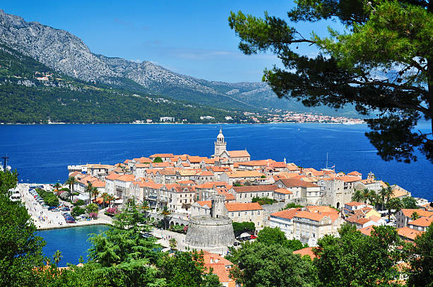 Corcula, Kroatien – Foto