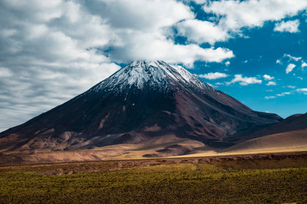 Cordilherias of the Andes, Atacama Desert in Chile stock photo