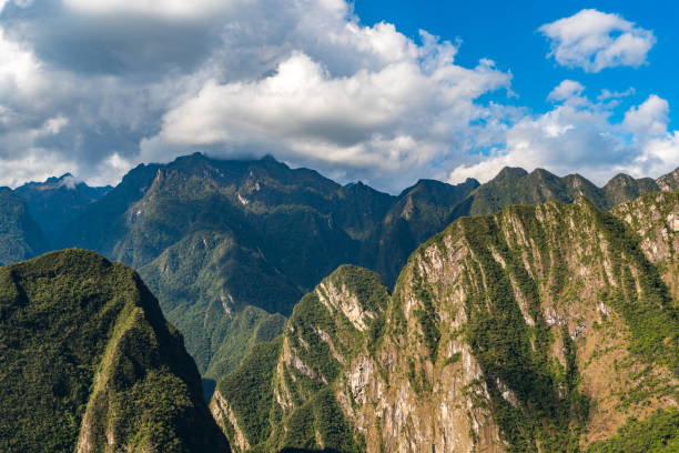 Cordillera de los Andes mountain range, South America the best of Peru high seat stock pictures, royalty-free photos & images