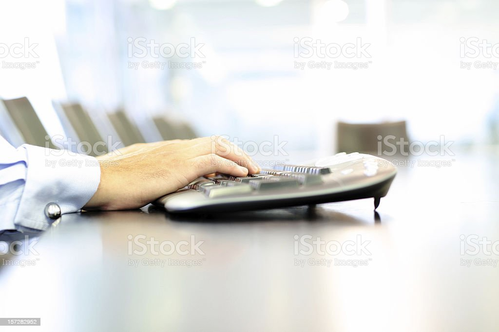 Cordless computing royalty-free stock photo
