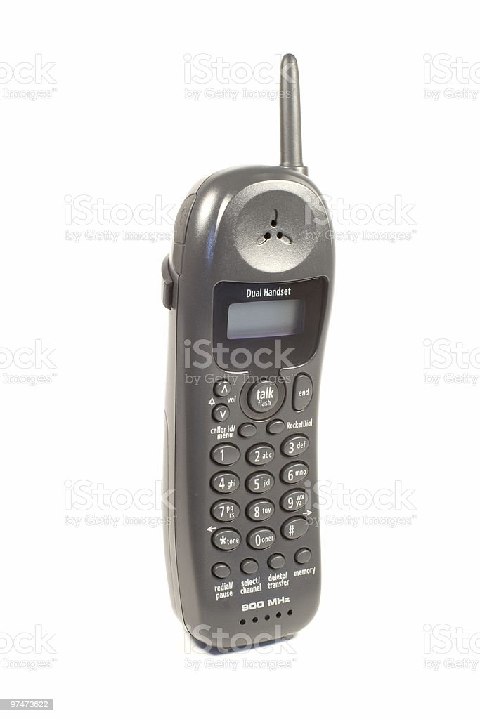 Cordless Phone royalty-free stock photo