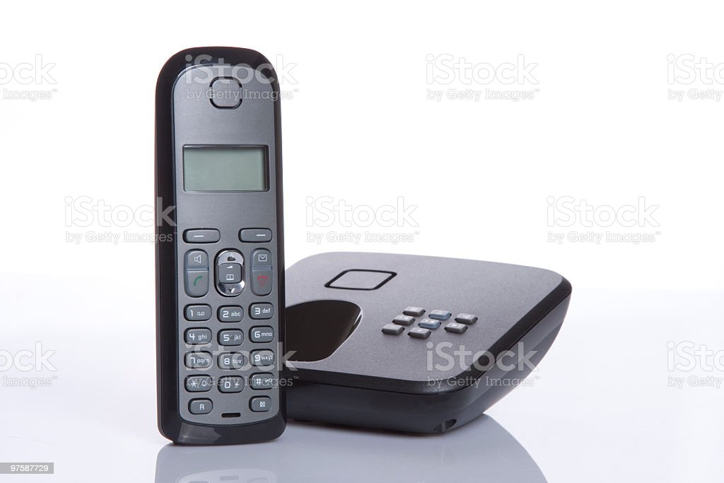Cordless Phone royalty-free stock photo
