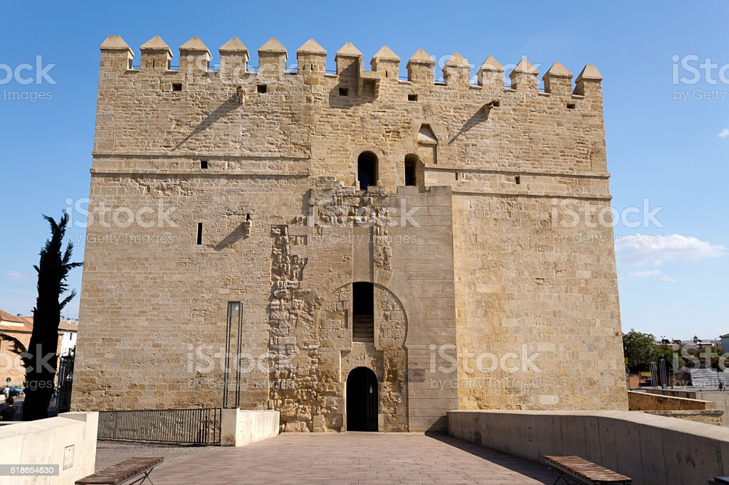 Cordoba Calahorra Tower stock photo