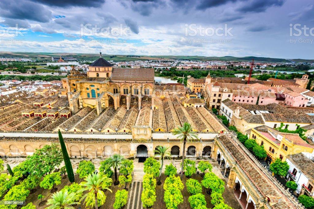 Cordoba - Cathedral Mezquita, Andalusia, Spain stock photo