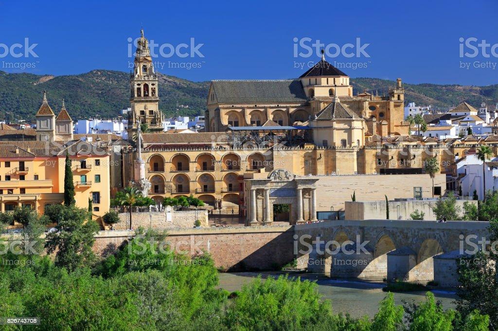 Cordoba skyline, Spain stock photo
