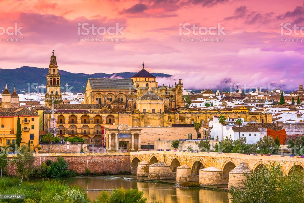 Cordoba, Spain Skyline stock photo