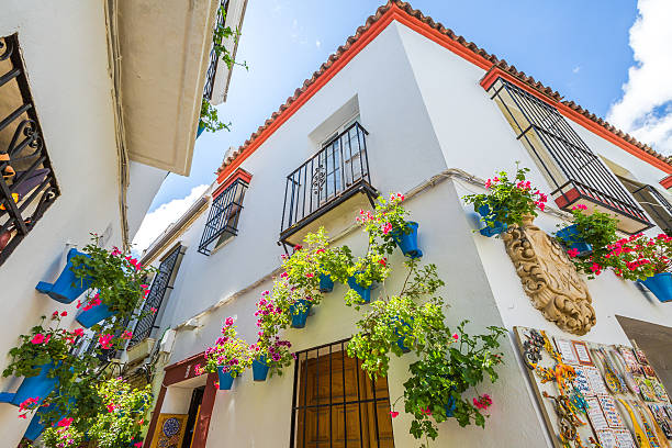 Cordoba streets of the Juderia – Foto