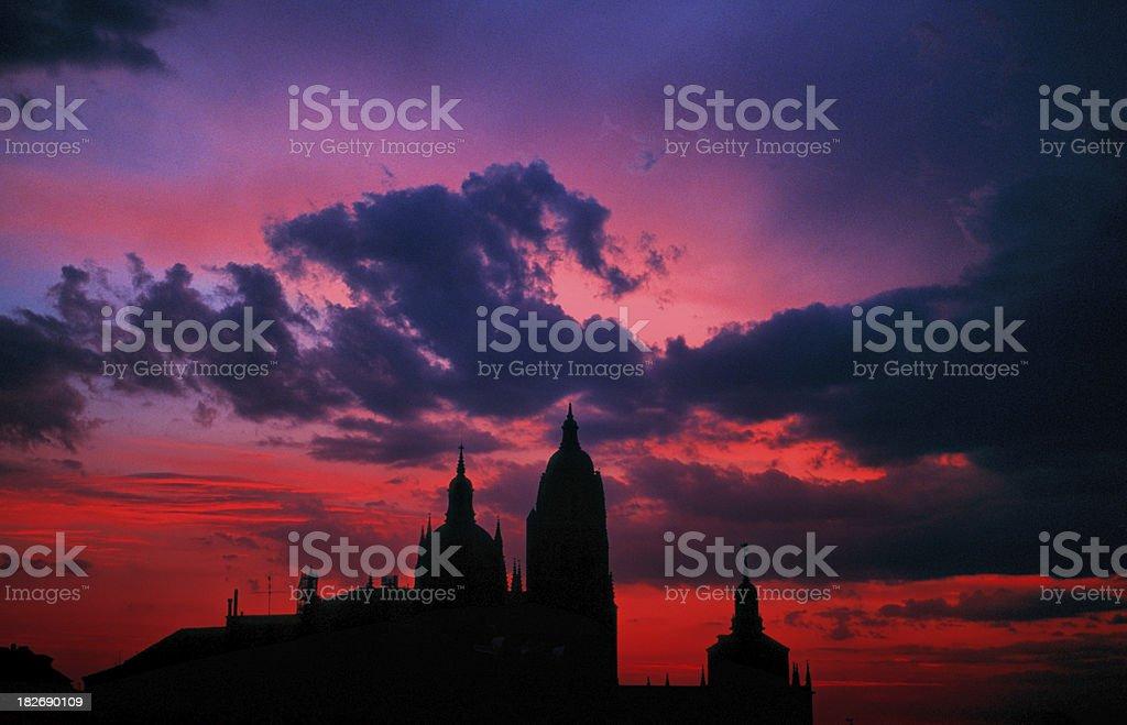 cordoba twilight stock photo