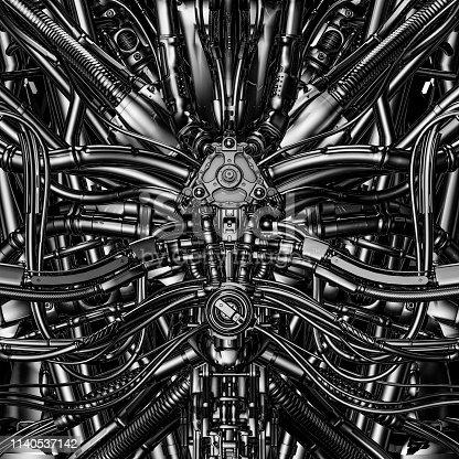 istock Core of the machine 1140537142