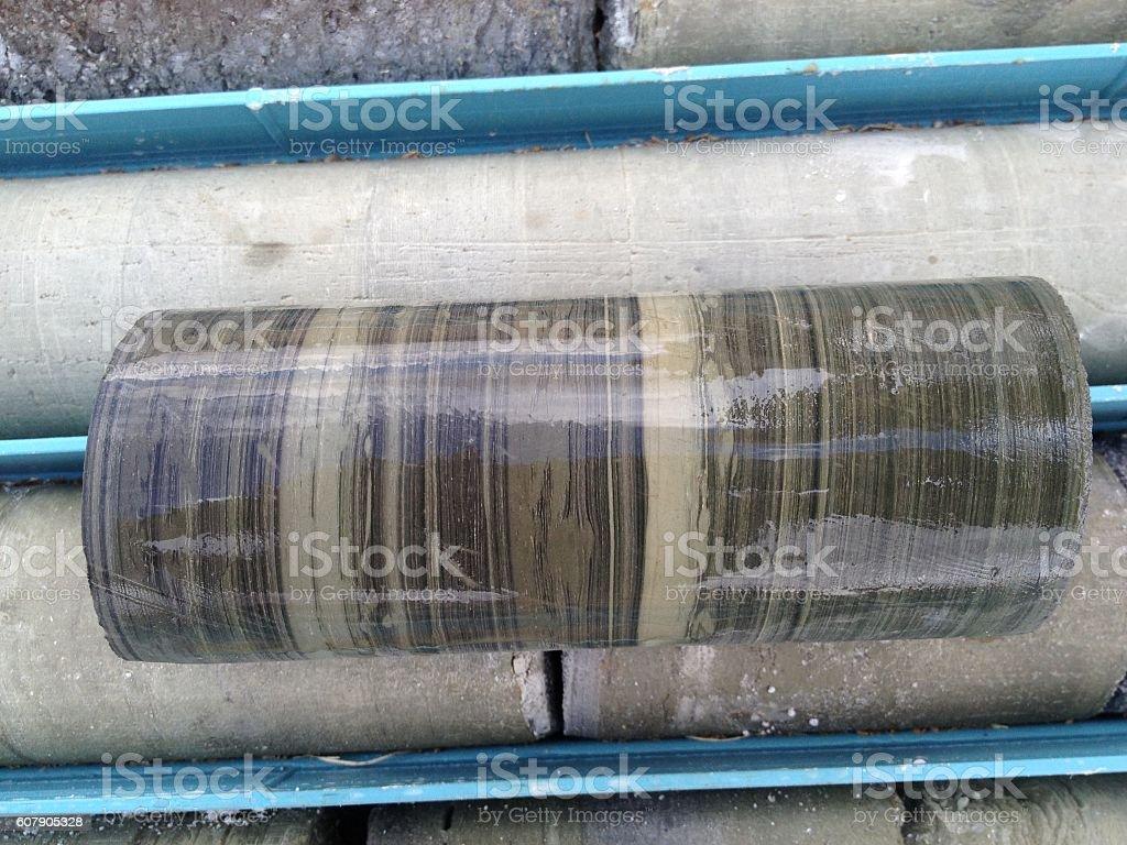 core sample stock photo