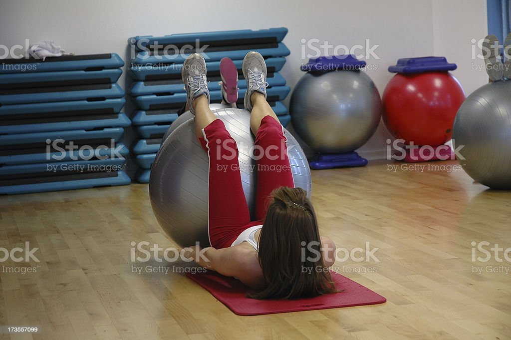 Core Stability stock photo
