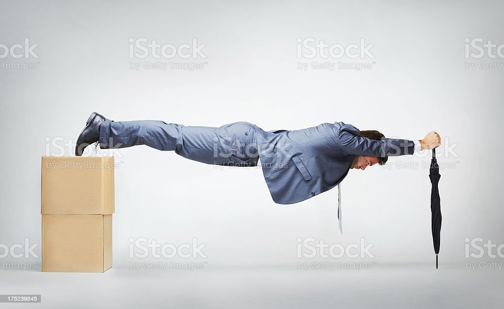 Core strength and resourcefulness stock photo