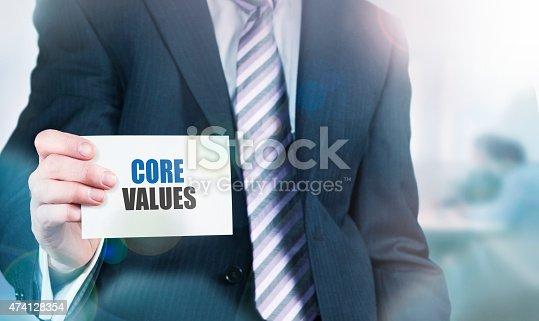istock Core Values Concept 474128354