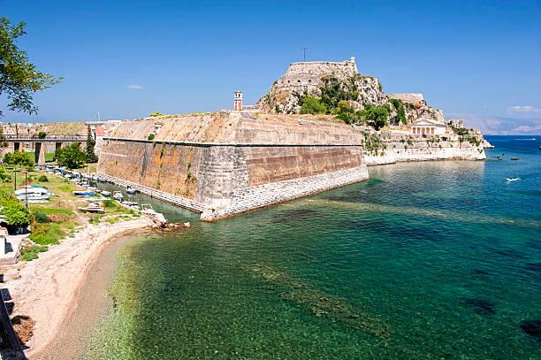 Korfu-fort – Foto