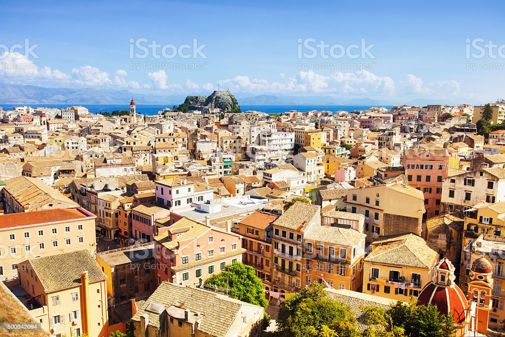 Corfu, Greece stock photo