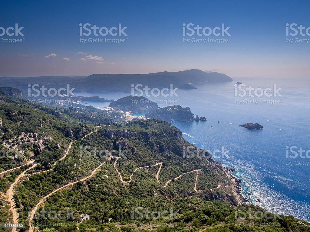 Corfu - Paleokastritsa stock photo