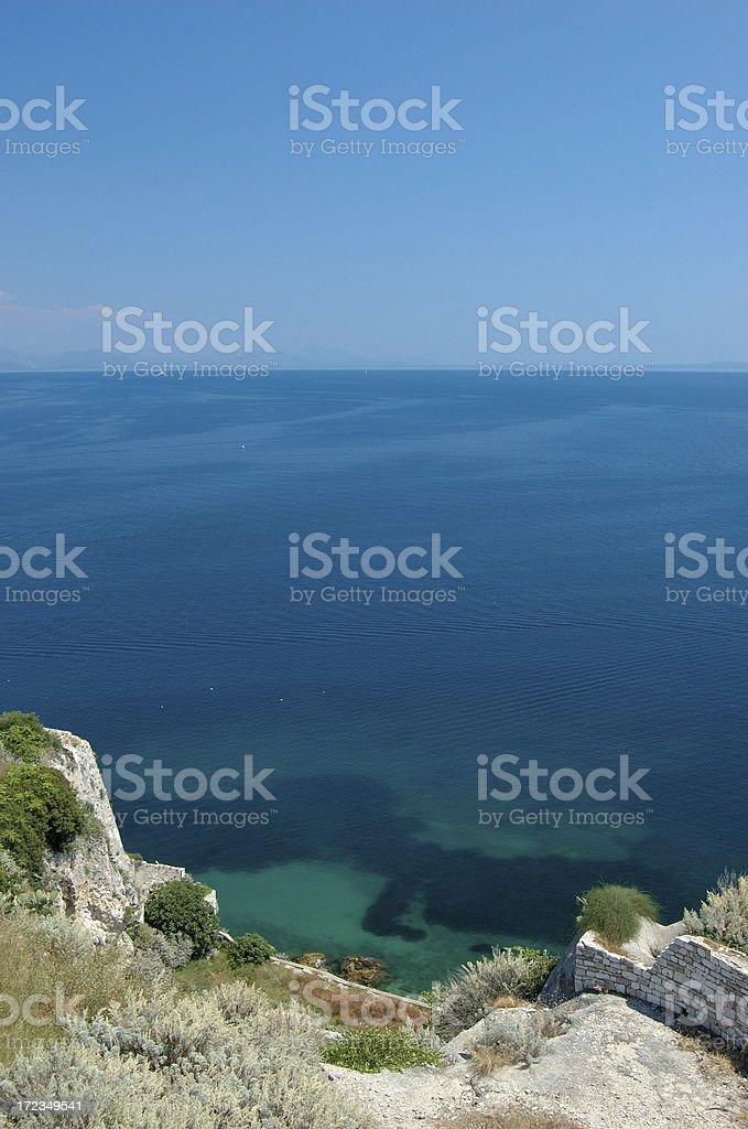 Corfu royalty-free stock photo