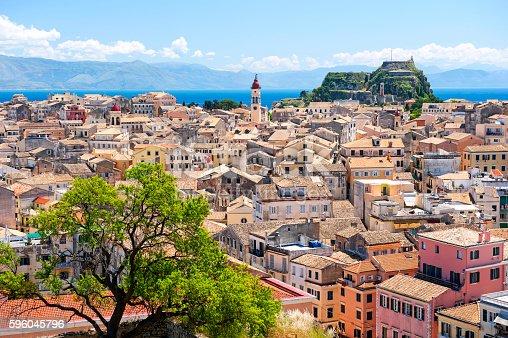 Corfu skyline